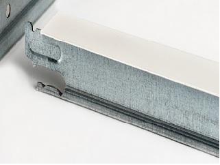 Thu perfil perfil t desmontable 24x38mm lacado en negro 3 for Perfiles techo desmontable