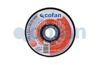 CF-  Disco abrasivo metal profesional 115mm 3x22,2mm