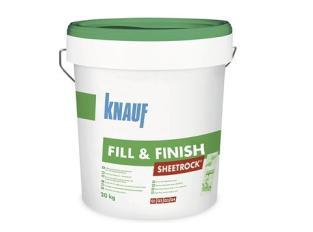 KNAUF-  Pasta juntas 24h cubo 7kg Fill&Finish T/verde