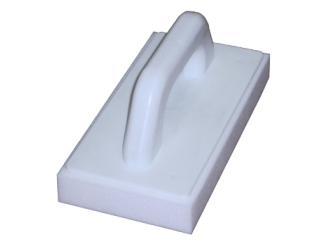 RV-  Remolinador espuma blanca cuadrado m. plástico