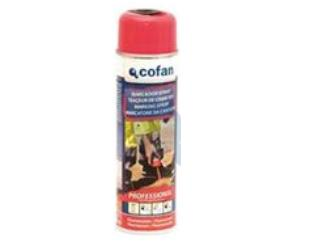 CF-  Marcador spray fluorescente rojo 500ml