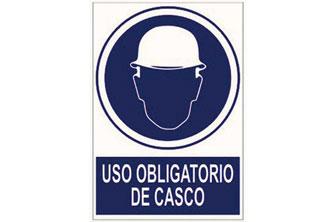 CF-  Señal uso obligatorio de casco 297x210