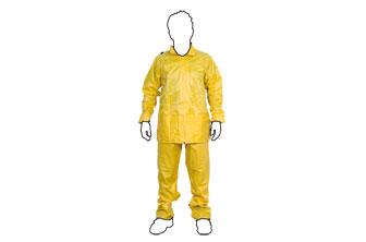 CF-  Traje agua PVC/Poliester L amarillo