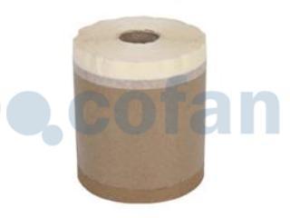 "CF -  Cinta crepe + papel ""KRAFT"" (15cmx45m)"