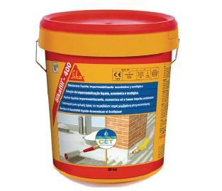 SIKA-  Sikafill 400 membrana líquida rojo 20kg