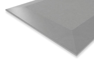 KNAUF-  Placa horizontal tipo A 4bordes BA12,5mm 1,2x2,50m