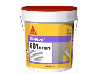 SIKA-   Sikadecor 801 nature blanco 13Kg