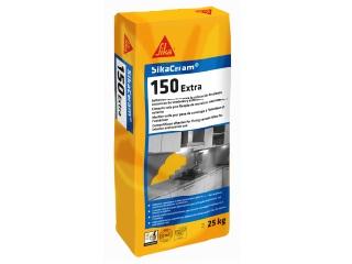 SIKA-  Sikaceram 150 extra 25kg gris C1TE
