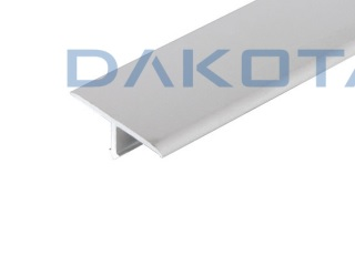 DAKOTA-  Listelo aluminio T 11mm satinado (2,5m)