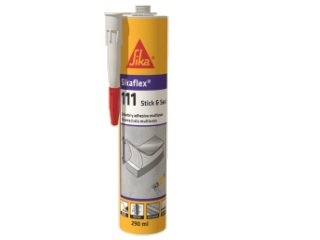 SIKA-  Sikaflex 111 stick & seal blanco 290ml