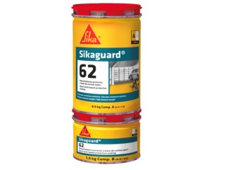 SIKA  Sikaguard 62 gris RAL 7001 6kg