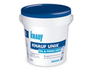 KNAUF-  Pasta de juntas unik fill & finish light 20 kg