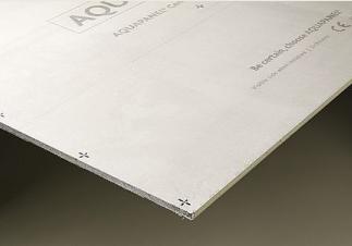 KNAUF-  Placa de cemento Aquapanel outdo 12,5 (1,2mx2,4m)
