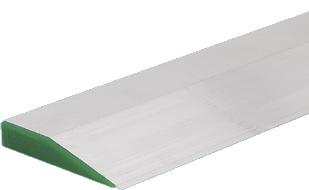 RV-  Regle yesero aluminio trapezoidal de 1m.